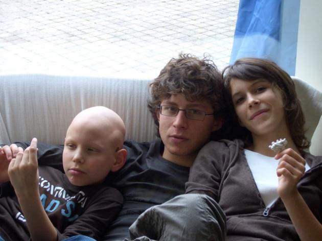 Pierre, Robin et Lucie