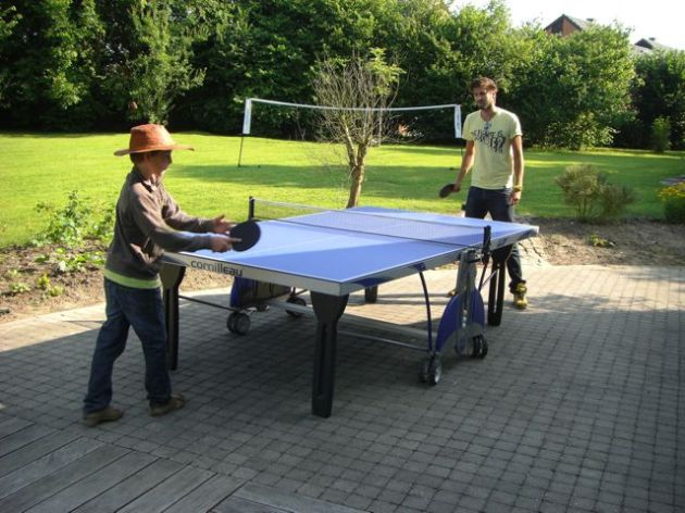 Pierre et Peter-Bas, ping pong